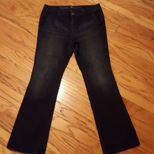 Simply Vera Vera Wang lightly distressed jeans